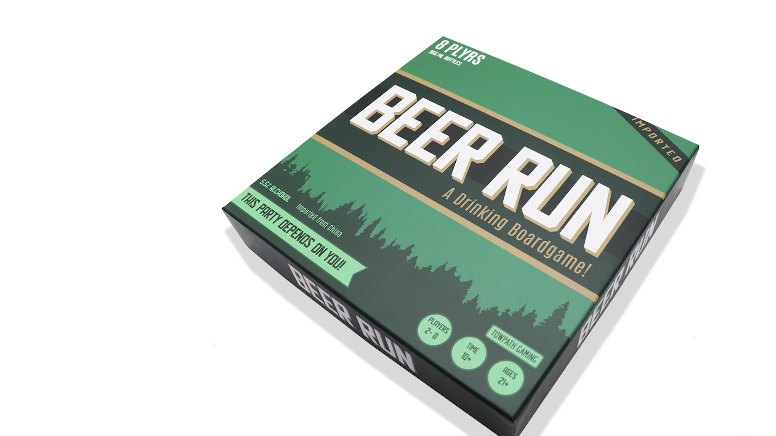 Beer Run: A Drinking Board Game by Evan Jaroslow — Kickstarter