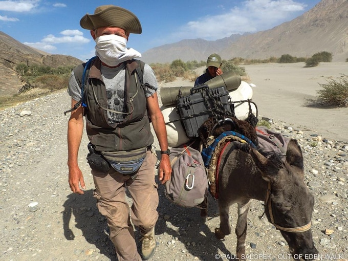 The hot winds in the Wakhan Valley raked up handfuls of dust—and pebbles like buckshot—in Tajikistan.