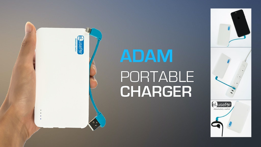 Adam Portable Charger: the best for iPhone users
