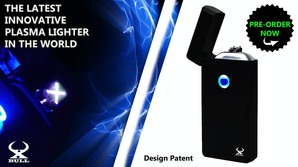 THE WORLD'S BEST PLASMA LIGHTER Design Patent project video thumbnail