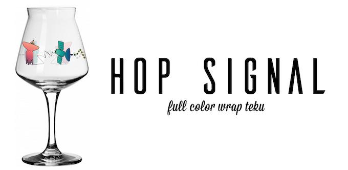 "Reward #5 - ""Hop Signal"" - Teku with Full Color Wrap"