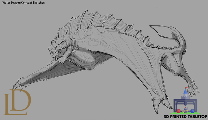 Water Dragon Concept