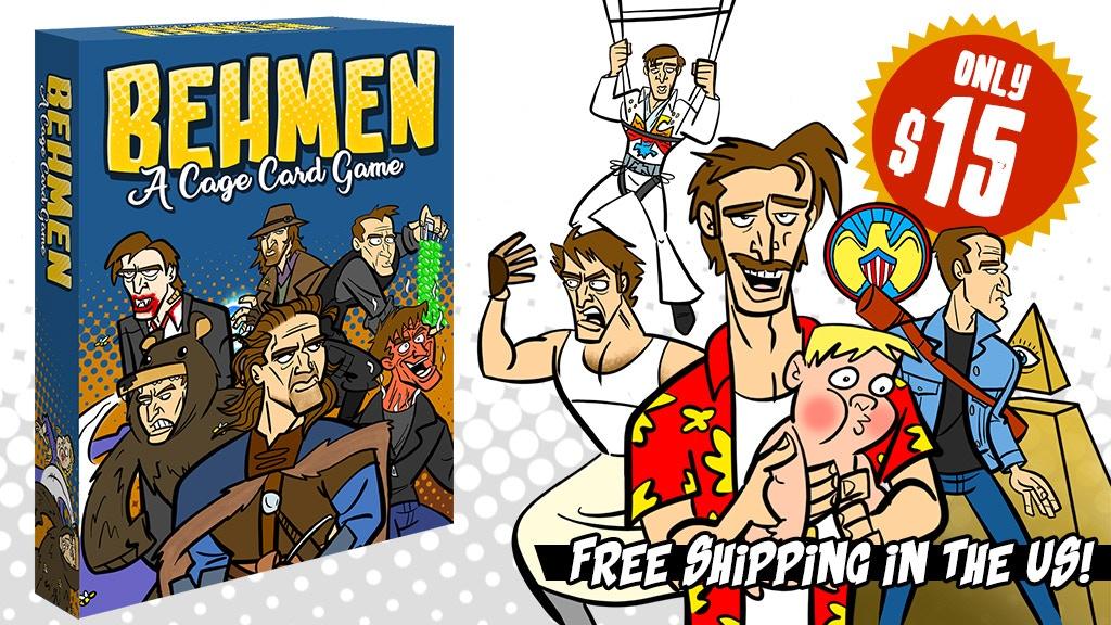 BEHMEN: A (Nicolas) Cage Card Game