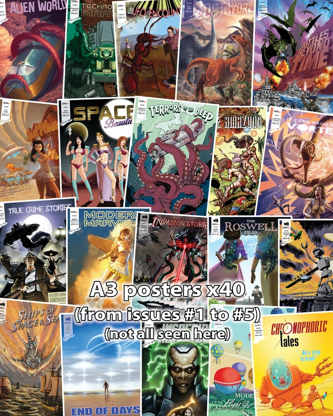 posters (A3 size) x40 - from issues 1 to 5