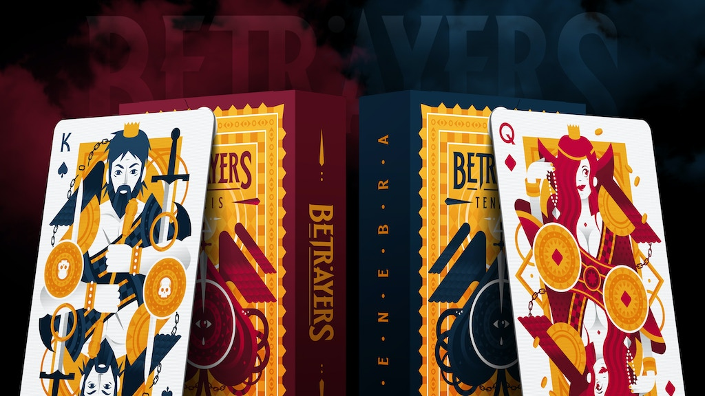 Betrayers Playing Cards