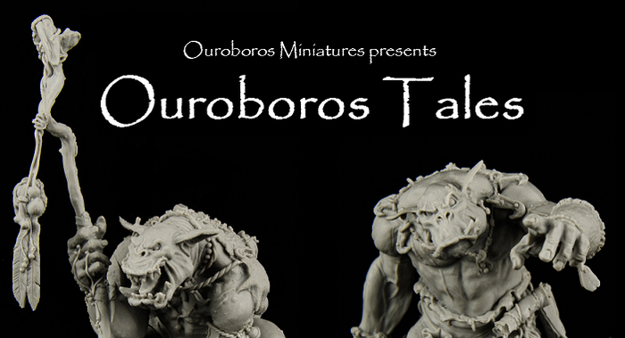 Please help fund the first releases from our Ouroboros Tales range, the Shaman and the Brave in 54mm scale high quality resin!