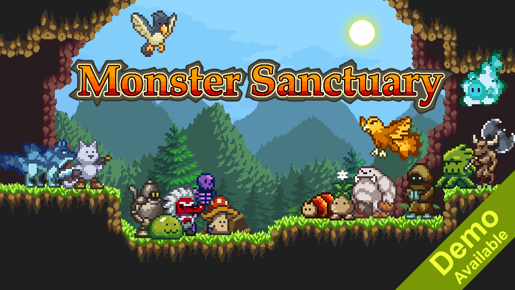 Monster Sanctuary - Monster Taming Metroidvania project video thumbnail