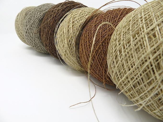 handspun linen yarn