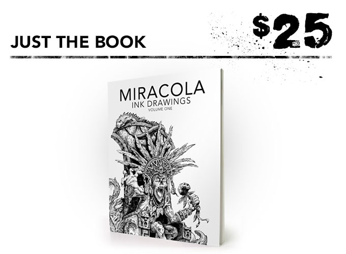 You get one signed art book + the free art print.