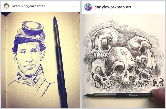 Thanks @sketching_carpenter & @carlyleworkman.art