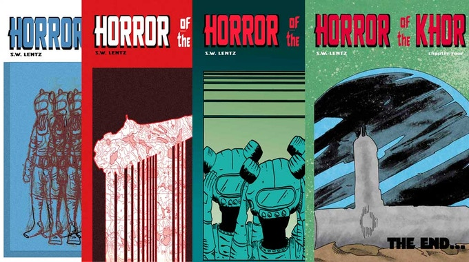 Horror of the Khor issues 1-4 Horror of the Khor issues 1-4