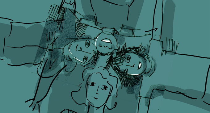 Animation sketch from JENNIFER, 42