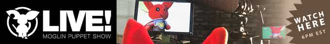Watch the highlight reel from the LIVE Moglin Puppet Show reward on YouTube