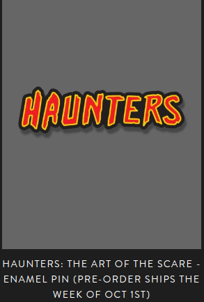 HAUNTERS - The Movie by The Brain Factory » FRIGHT-RAGS
