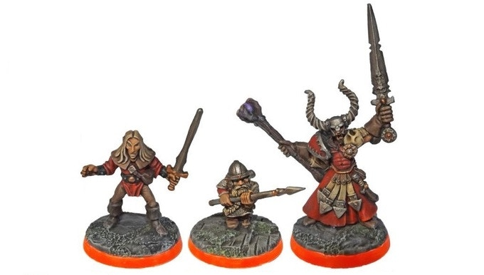Hero Questors - by MB Games, Games Workshop and an unknown company - Based using various BASIUS:MAX pads