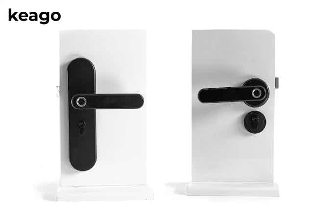 Keago Indoor Latch Version is now available in two options: Tall on the left and Round on the right. All with the same great features!