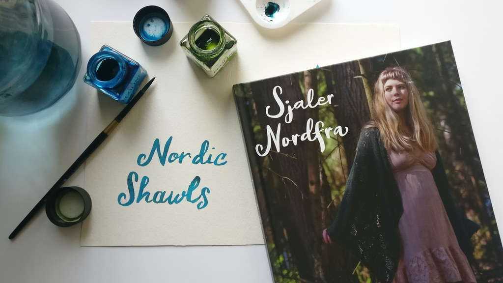 Nordic Shawls - a knitting book project video thumbnail