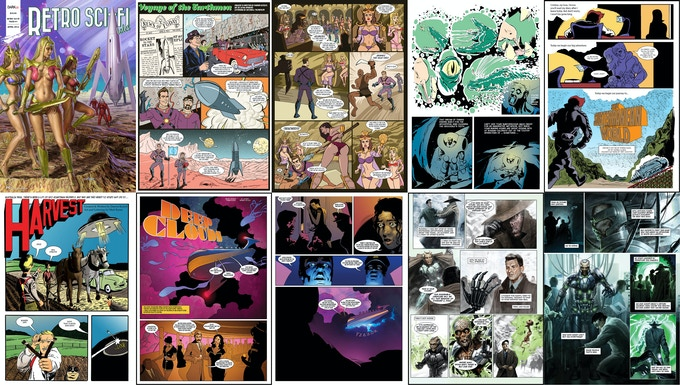 issue #1 page samples