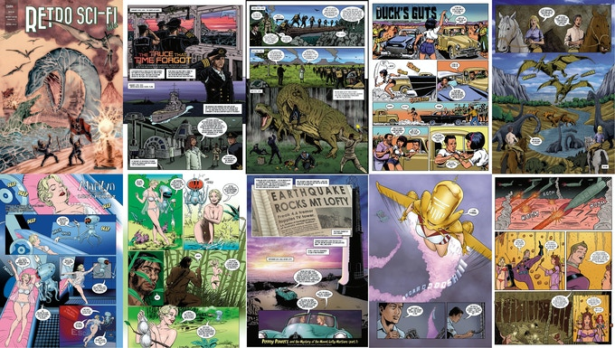 issue #2 page samples