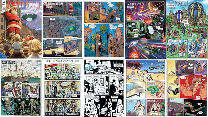 issue #5 page samples