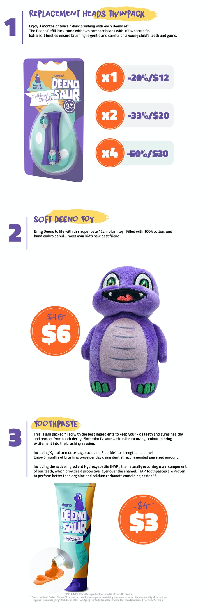 Deeno Saur The World S Best Toothbrush For Kids By Ryan