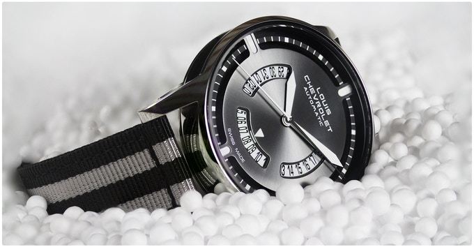 unveil the invisible on a mechanical swiss made watchlouis