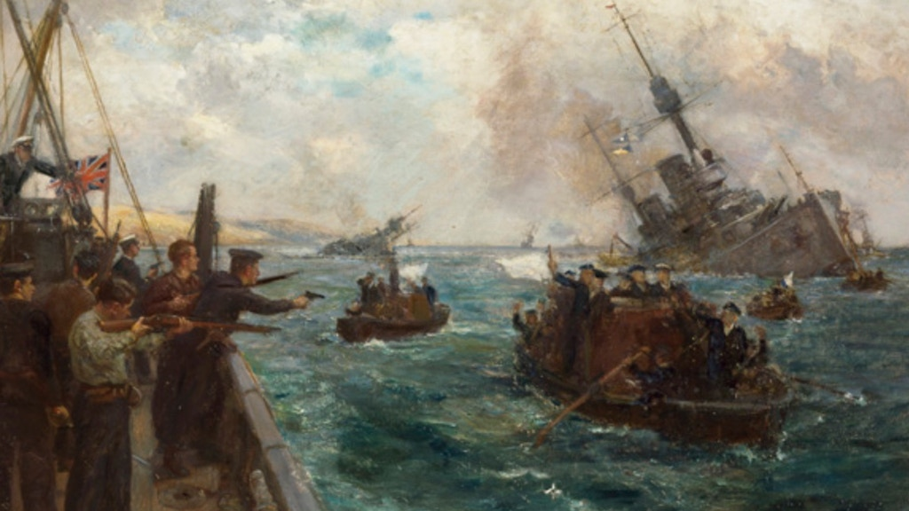 The Animation of the 1919 German Fleet Scuttle in Scapa Flow project video thumbnail