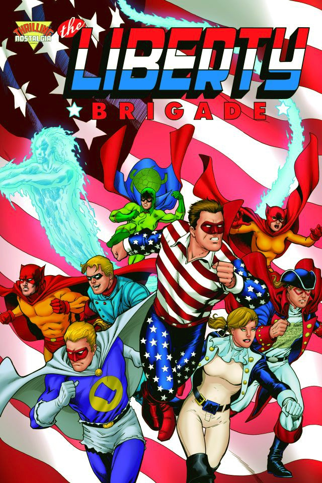 The Liberty Brigade - Barry Kitson Cover