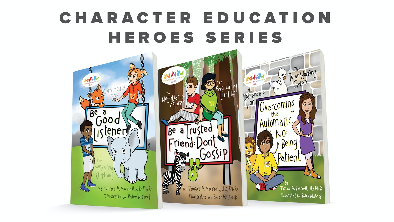 Character Education Heroes inspires kids to have positive self-esteem,  practice effective communication,