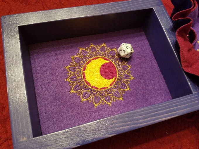 Mollymauk Tribute Epic Dice Rolling Tray