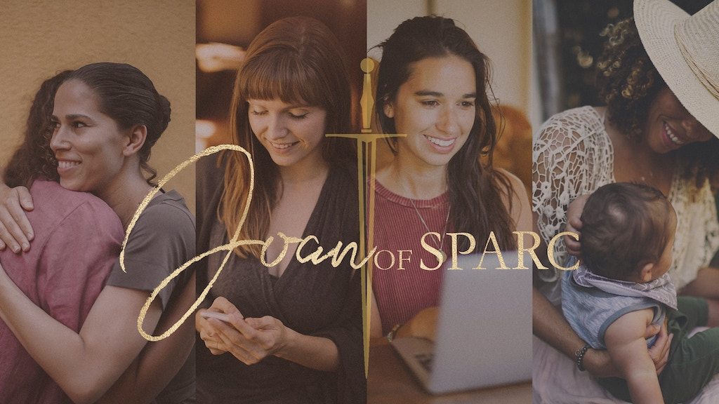 Joan of Sparc - Empowered and Free! Revolutionary App project video thumbnail