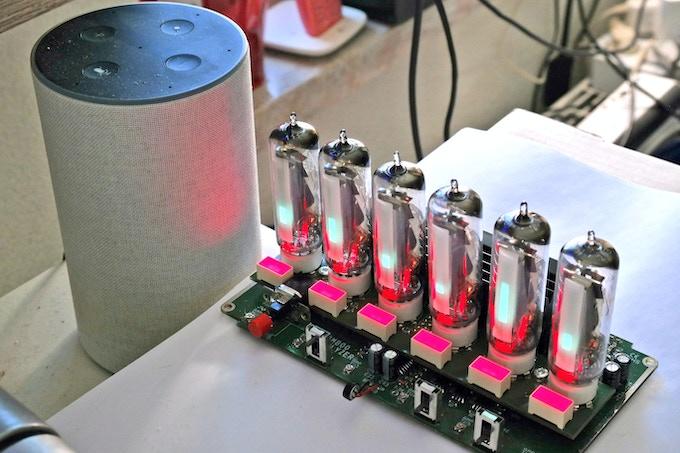 Audio Spectrum Analyzer with EM800 tubes called