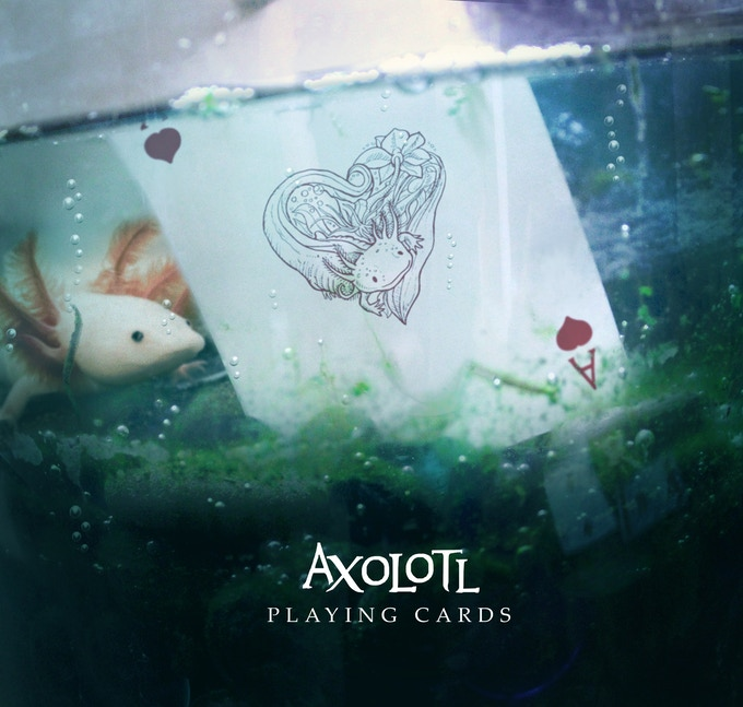 ACE OF HEARTS UNDER WATER