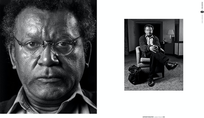 page 158 and 159 - Anthony Braxton in Ljubljana, 2000
