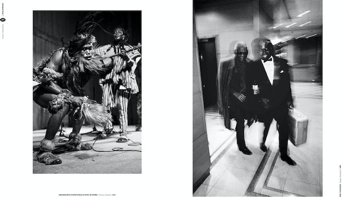 page 224 and 225,  King Ayisoba, Druga Godba 2017; Ray Charles, Skopje JazzFestival, Macedonia, 1996