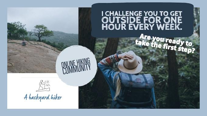 A Backyard Hiker - Your online Hiking Community