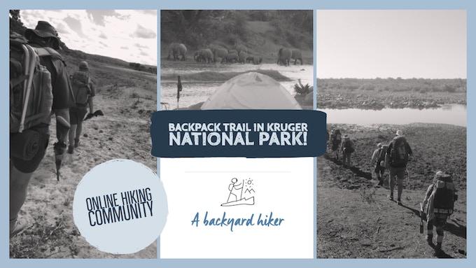 A Backyard Hiker - Kruger National Park