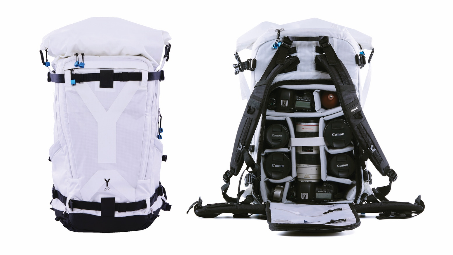 Introducing NYA-EVO's game-changing range of carry-on adventure backpacks and removable camera inserts.