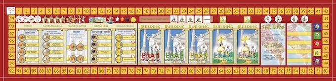 City of Rome building array 930 x 210 mm