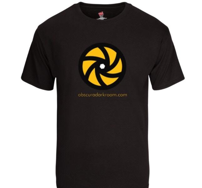 Obscura Darkroom T-shirt 100% Cotton