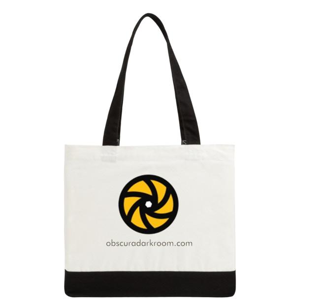 Obscura Darkroom Tote Bag 100% Cotton