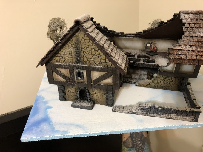fancy this on your gaming table, this whole build was realised in just 8 hours with the tools provided here, click the link for a detailed how to build video