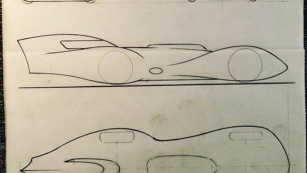 Project image for Cornfield Customs Bonneville Streamliner project