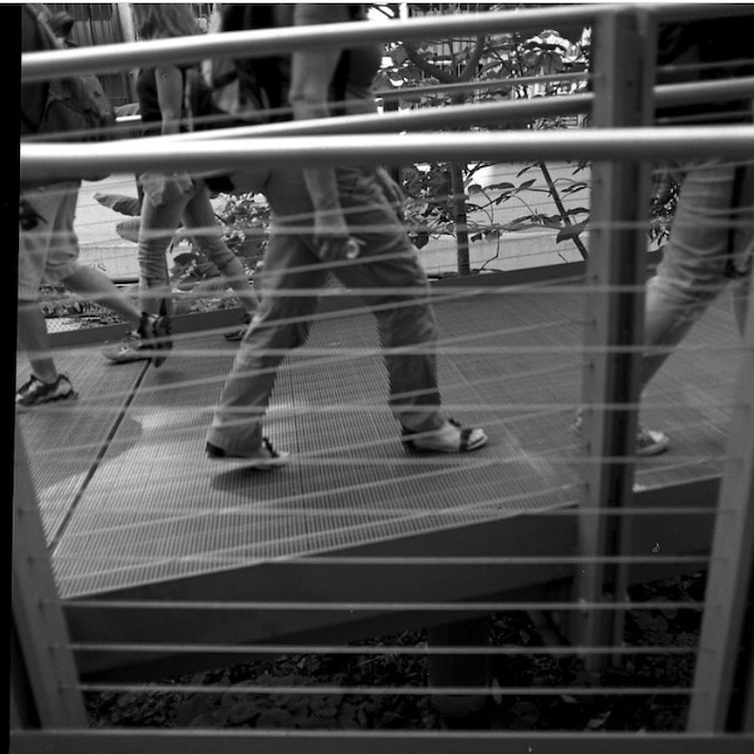 "Image 5 of 5  ""High Line Walkers NYC"" 8x8 gelatin silver print"