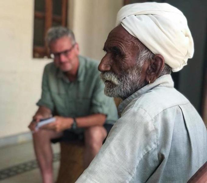 Memories of camels, ghost trees, and tax collectors. Padmaram Shoram Jat, 90. Harasar,