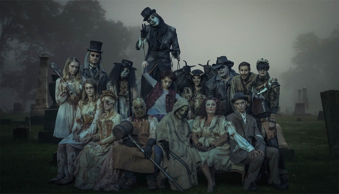 Rutherford Manor Haunt Cast