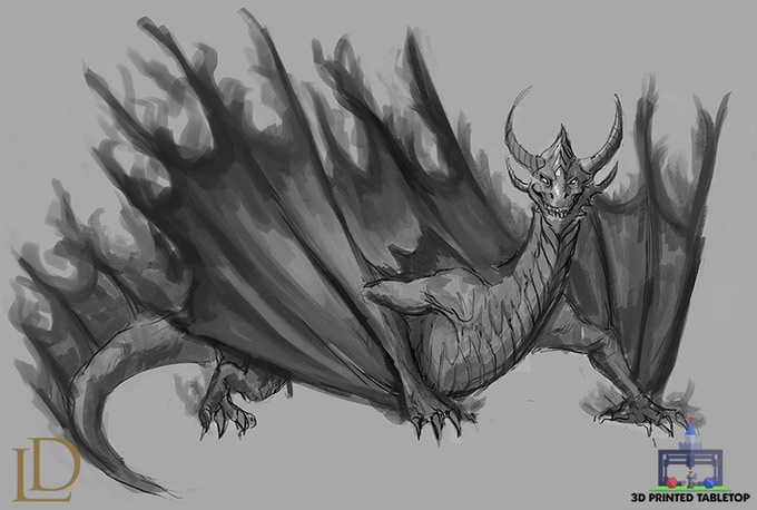 Shadow Dragon Concept
