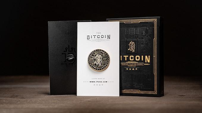 "Gold Enamel ""B"" Bitcoin Pin"