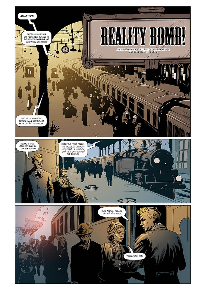 Reality Bomb - from issue 7