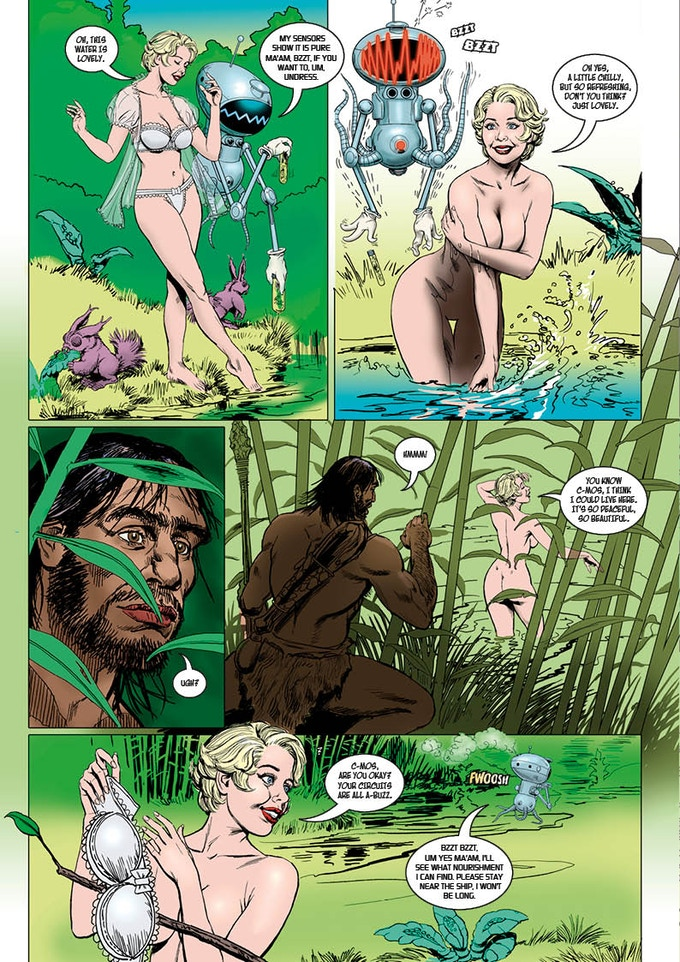 Marilyn on the Lost Planet - issue 2